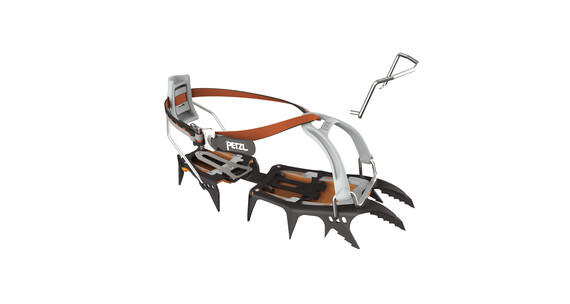 Petzl Sarken Crampons grå/orange